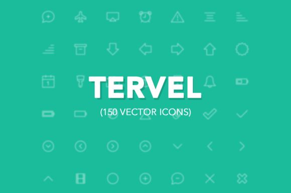 Tervel - Vector Stroke Icons iOS7 ~ Icons on Creative Market