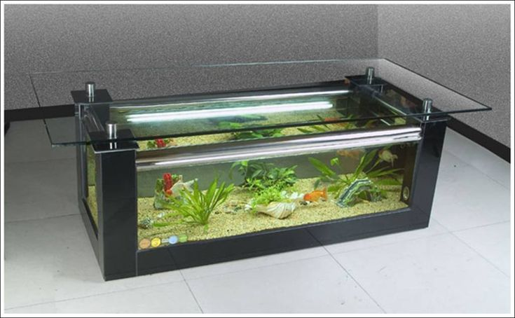 Fish Tank Tables…They Hold Alive Tranquility! 8