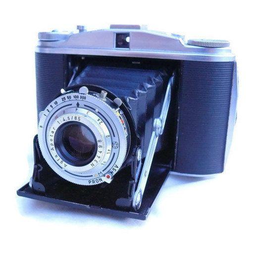 Agfa Isolette II 120 Film Camera, Vintage Camera, 120 Film Camera, 6x6 Picture, Medium Format Camera, 120 Film, 1950s Camera by HarmlessBananasTribe on Etsy