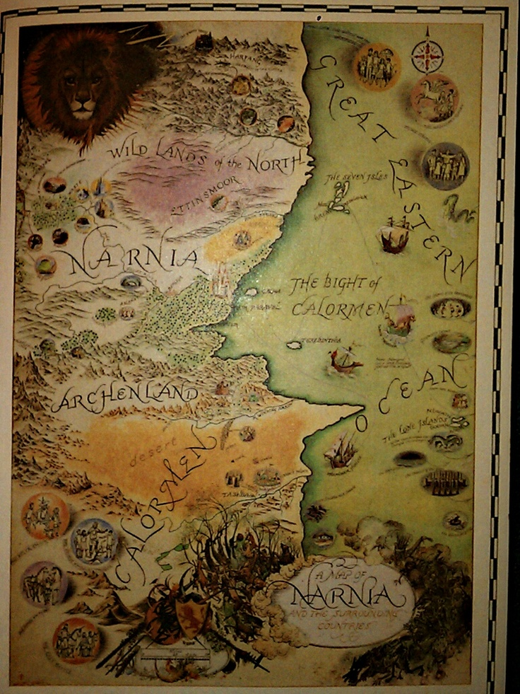going to put fictional maps in my