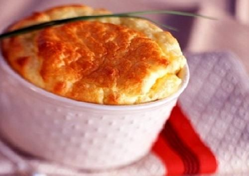 Souffle de queso casero y facil | Recetas de Cocina faciles.