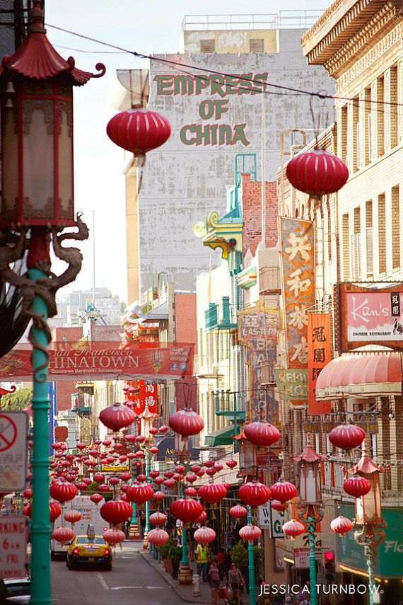 Chinatown San Francisco Photography 12x18 Print by PastelFables, $45.00