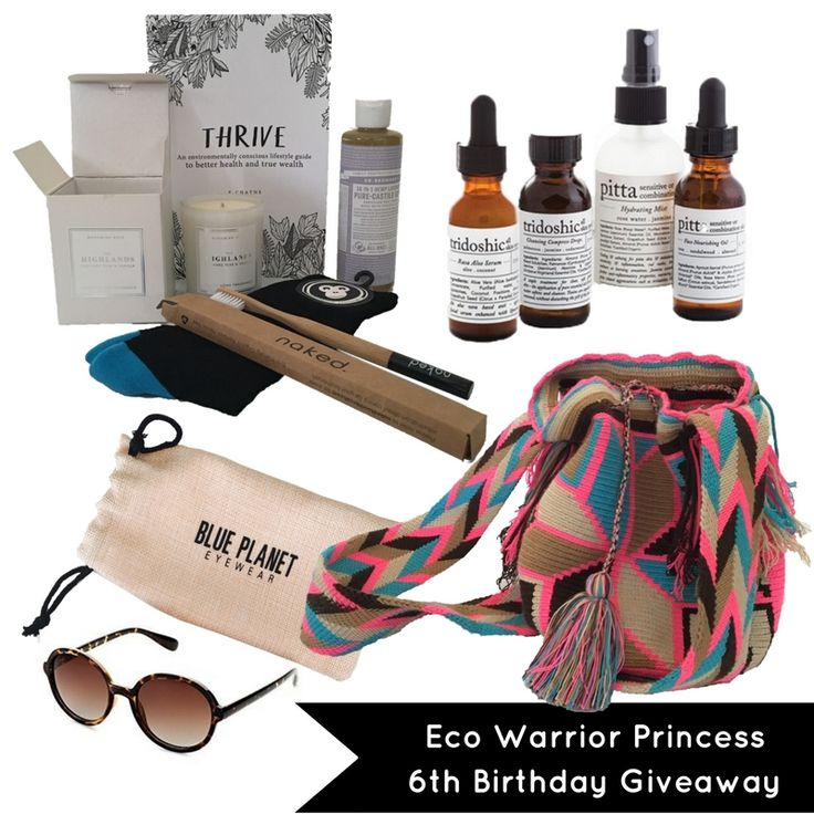 Eco Warrior Princess 6th Birthday Giveaway