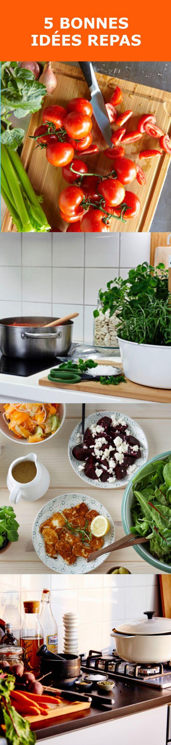À essayer : cinq repas faciles à réaliser, pour combler toute la famille !
