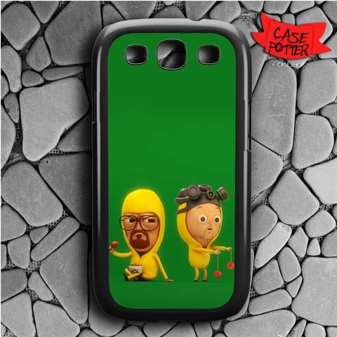 Mini Green Breaking Bad Samsung Galaxy S3 Black Case