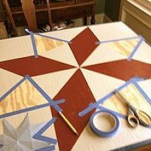 My mother is a quilter and for her birthday I made her abarn quilt squ… :: Hometalk