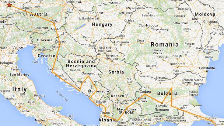 Allein Reisen als Frau im Balkan - wie ist das? Meine persönliche Erfahrung nach 5 Wochen Backpacking durch Kroatien, Bosnien, Montenegro und Albanien