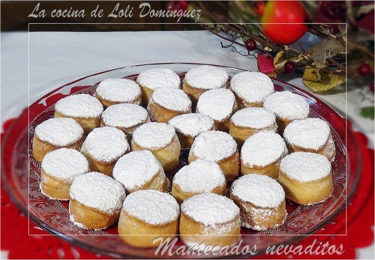 La cocina de Loli Domínguez: Mantecados nevaditos