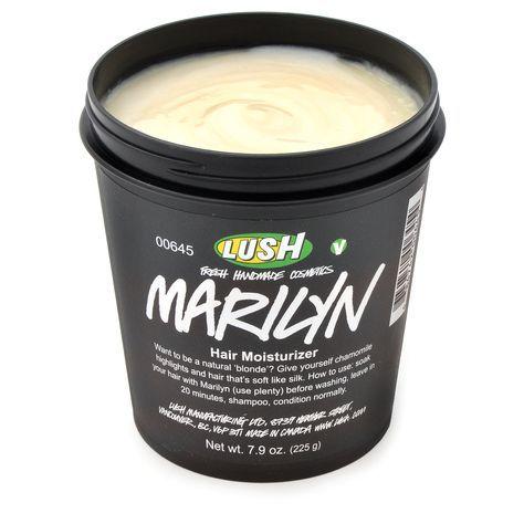 Lush Marilyn traitement capillaire qui blondit les cheveux