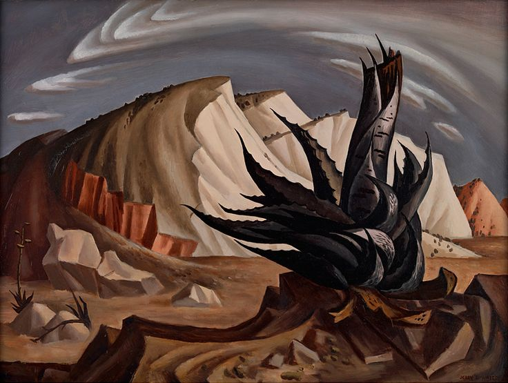 """Jerry Bywaters, """"Century Plant,"""" 1939"""
