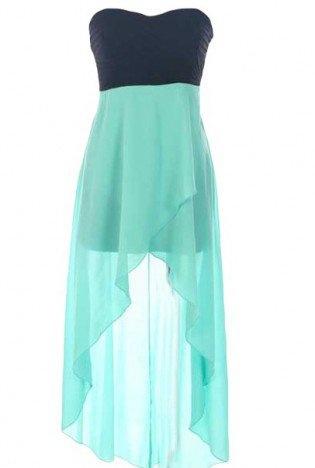 Sweetheart High-Low Dress