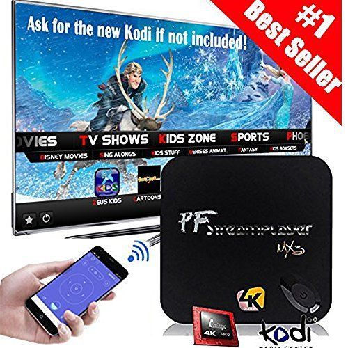 MX3 Advance Android TV Box Quad Core/S812/2G/16G/4K Streaming Media Player & Game Play Station Preload KODI (XBMC)16.1