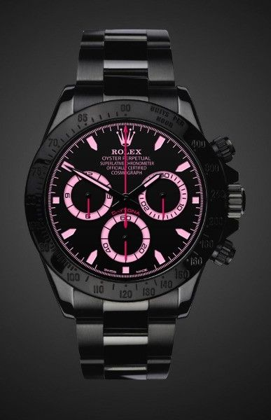Black PVD Rolex Daytona Watch