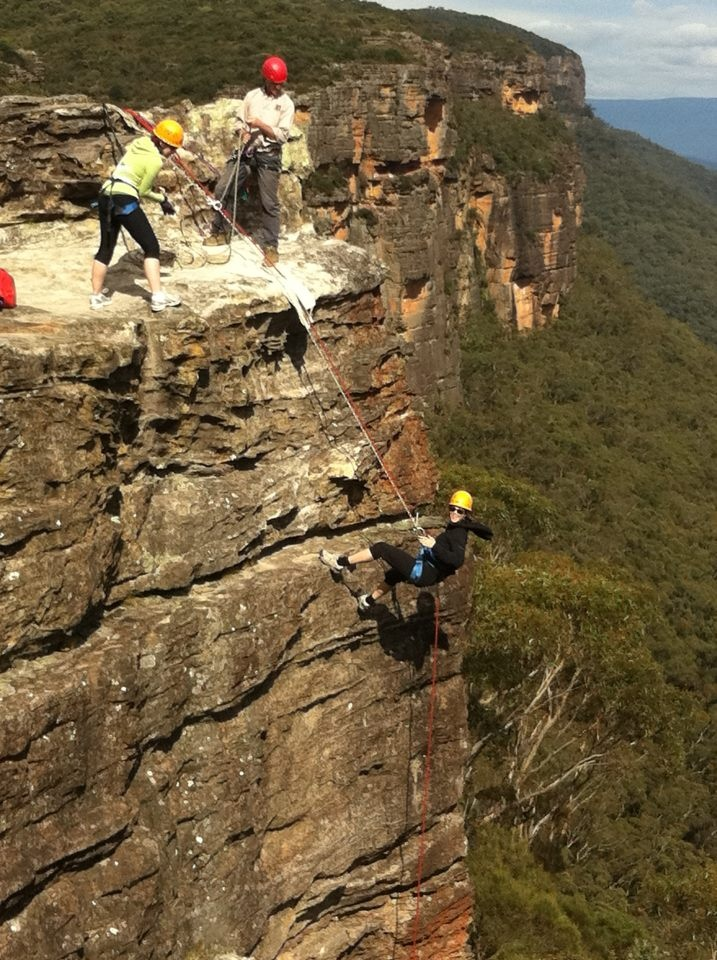 Blue Mountains Abseiling & Canyoning Tour...I'VE DONE THIS HERE!