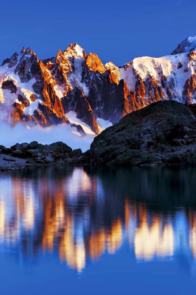 The Alps - Reflection photography