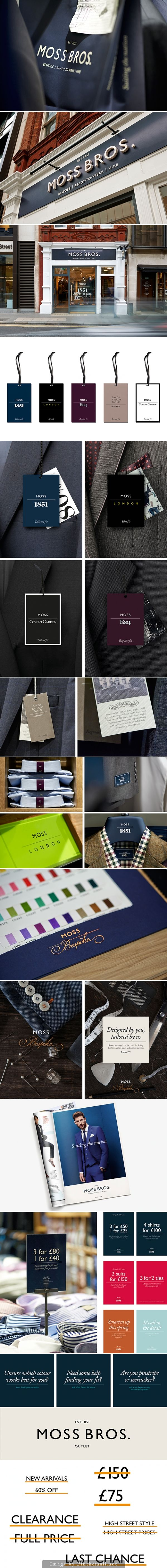 Moss Bros by Pentagram - created via http://pinthemall.net
