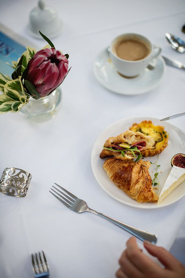 Delicious breakfast pastries with every morning buffet at The Last Word Intimate Hotels.