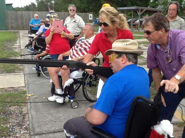 Veterans with Spinal Cord Injuries Find Trap Shooting Therapeutic