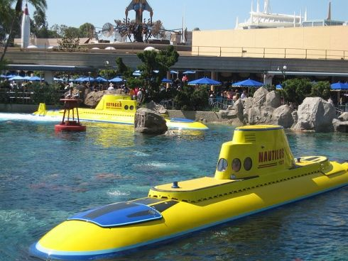 """110. Finding Nemo Submarine Voyage opens at Disneyland (2007) After almost 9 years out of action following a """"temporary"""" closure in 1998, Disneyland's Submarine Voyage attraction was finally revived with a new Pixar theme in 2007."""