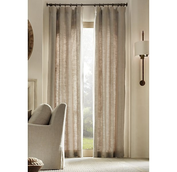 Restoration Hardware curtains | ~Restoration hardware~ | Pinterest