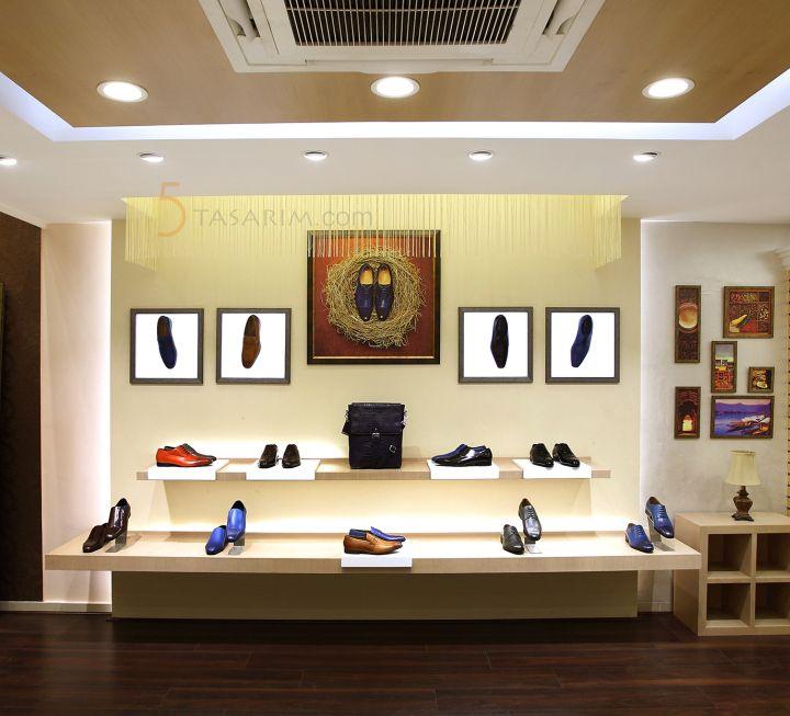 ayakkabı mağaza raf sistemi