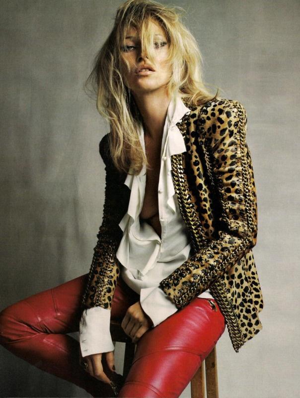 Kate Moss for Balmain