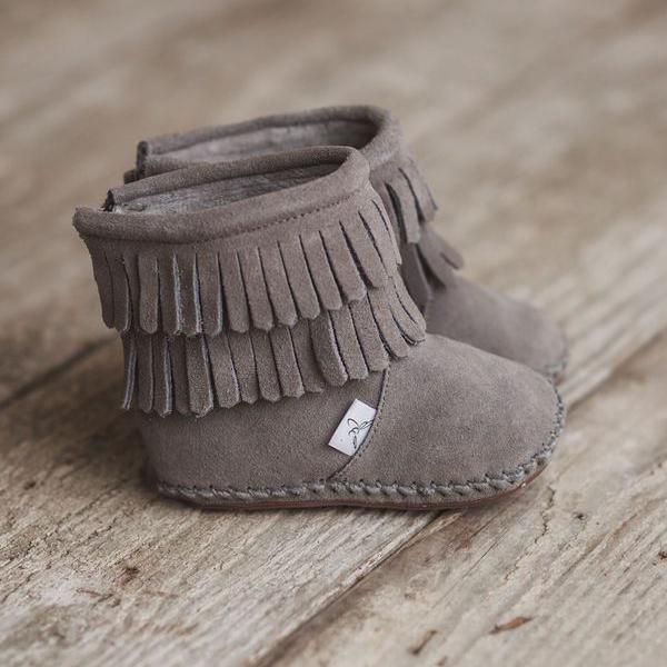 Waterproof Soft Sole #Boot #boy #fringe