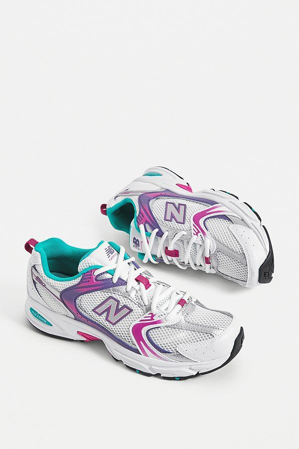 new balance pink trainers