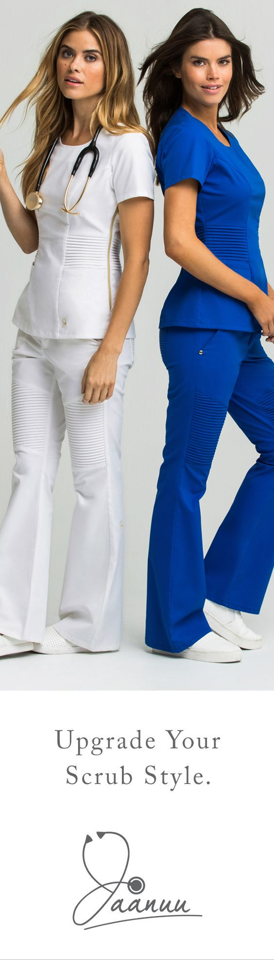 Feel confident in your professional look with Jaanuu, where high-tech fabrics meet high-fashion designs. Upgrade your scrubs today and get FREE shipping + returns. Save 20% on your first order with PIN20.