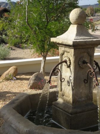 from Relics - free standing limestone fountains