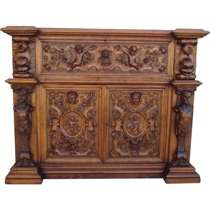 19th Century French Antique Gothic Sideboard Server Cabinet Antique from  castlehillantiques on Ruby Lane - 934 Best GOTHIC FURNITURE : MYO Images On Pinterest Gothic