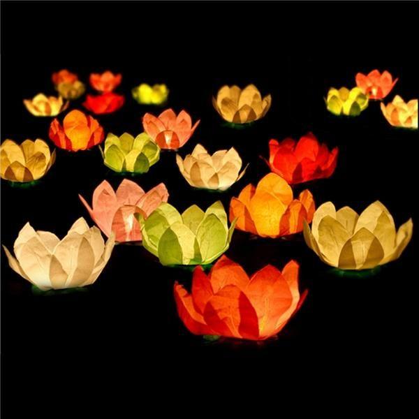 Llena tu piscina con estas velas flotantes para vela y for Velas flotantes piscina