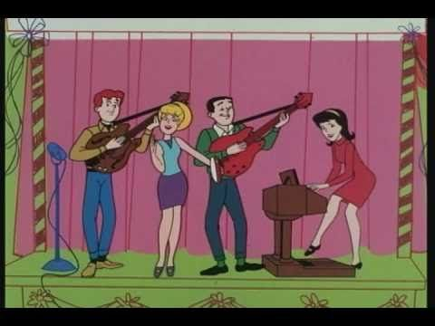 Sugar, Sugar (Original 1969 Music Video) by the Archies.  A fun, innocent song recognized by guests of all ages!