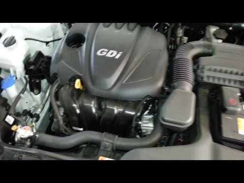 (27) 2013 Kia Optima EX Sedan with Hyundai Theta II 2.4L GDI I4 Engine - Idling After Oil Change - YouTube