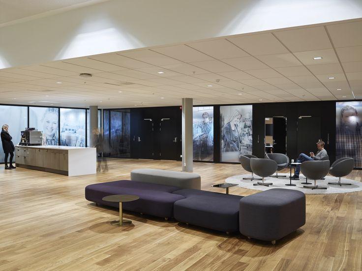 Statoil Fuel & Retail. Corporate office designed by Metropolis arkitektur & design. www.metropolis.no
