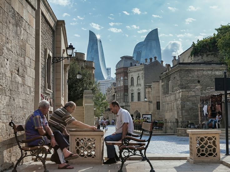 Baku, Azerbaijan. All though I was very young Baku left a deep impression on me, I plan to go back with my family some day. The Mediterranean all together is just a place like no other.
