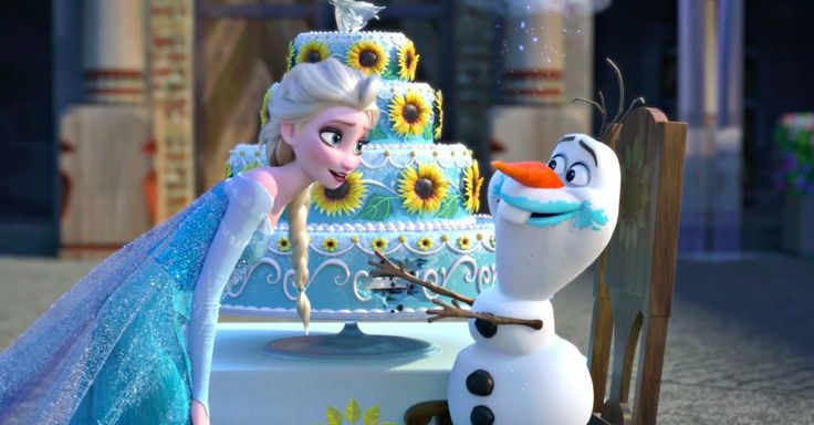 Things might get chilly on Anna's birthday in 'Frozen Fever,' a short film that features the lovable 'Frozen' characters, because Elsa is sick with a cold.