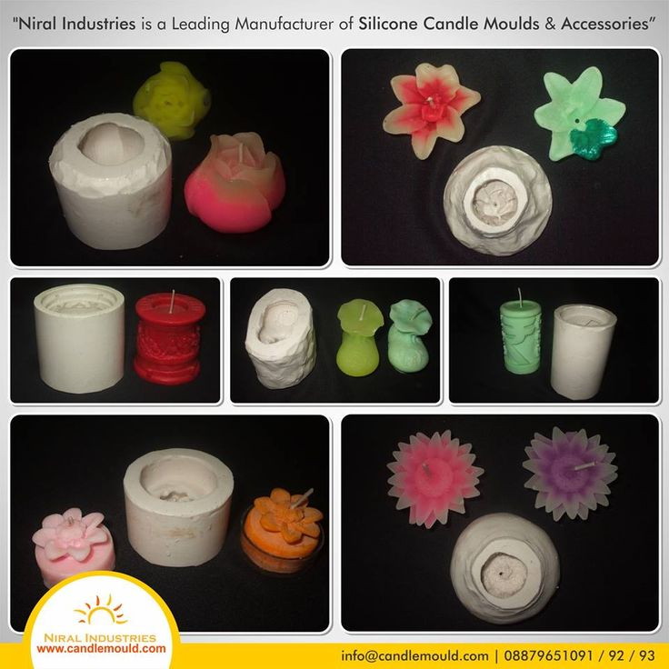 Niral industries is a Leading Manufacturer of Silicone Candle Moulds and Accessories   Call Us: 08879651091 / 92 / 93 Visit Us: www.candlemould.com  #Niralindustries #Manufacturer #SiliconeCandle #Moulds #Accessories