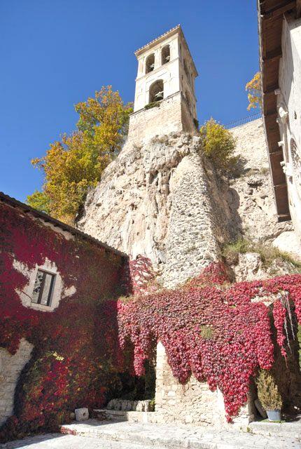 Torre campanaria dell'Abbazia di Sant'Eutizio