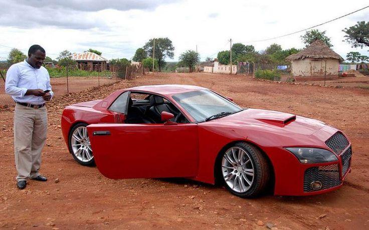 Check out Moses Ngobeni's homemade car