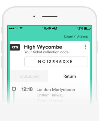 book train tickets in advance through trainline