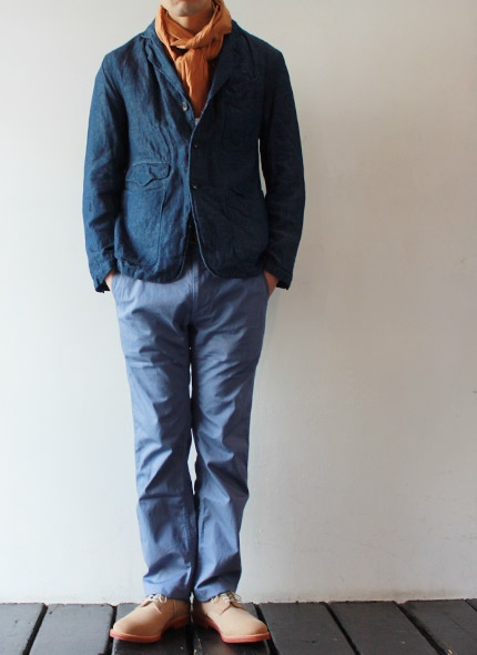 [Engineered Garments] USN Pant - Cotton Pique - takanna.com #fashion #pants #Engineered Garments