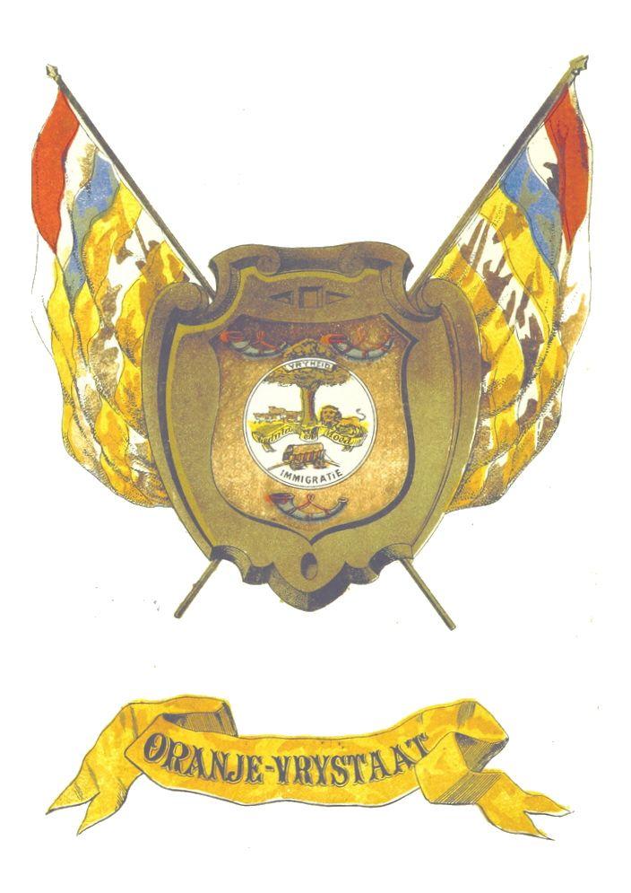 Coat-of-arms of the Oranje Vrijstaat (Orange Free State) 1854-1902