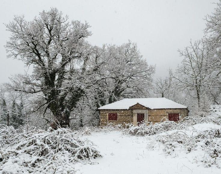 7 ελληνικά χωριά του χειμώνα