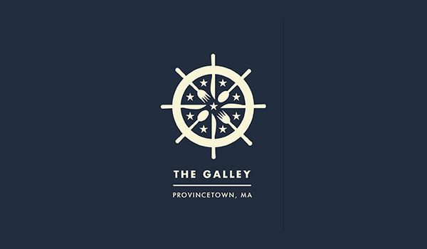 The Galley Restaurant by Jonathan Schubert; great website with nautical logo design