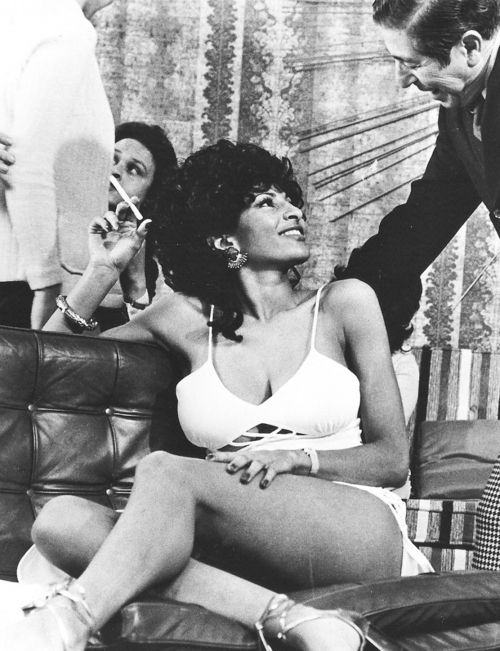 "pam grier in ""foxy brown"", 1974"