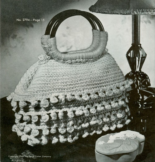 crochet: vintage bag ...Bag...yarn...etc... Pinterest