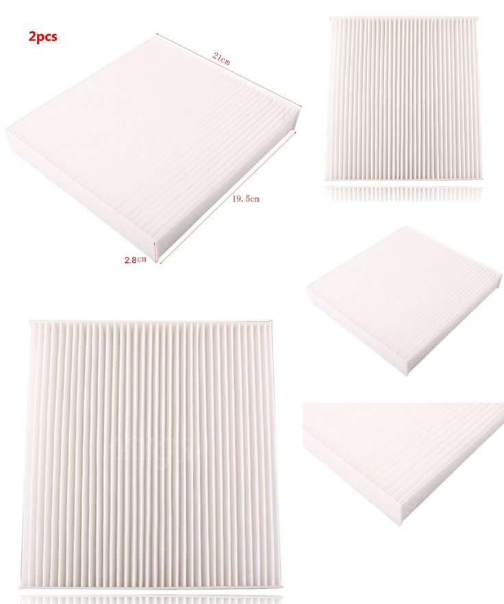 [Visit to Buy] 2 PCS White Cabin Air Filter For 2006-2011 for Lexus Toyota  Camry Avalon Corolla Highlander Tundra 87139-07010 Motorcycle Air #Advertisement