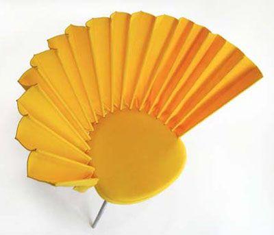 fan chair, hiroki takada, furniture
