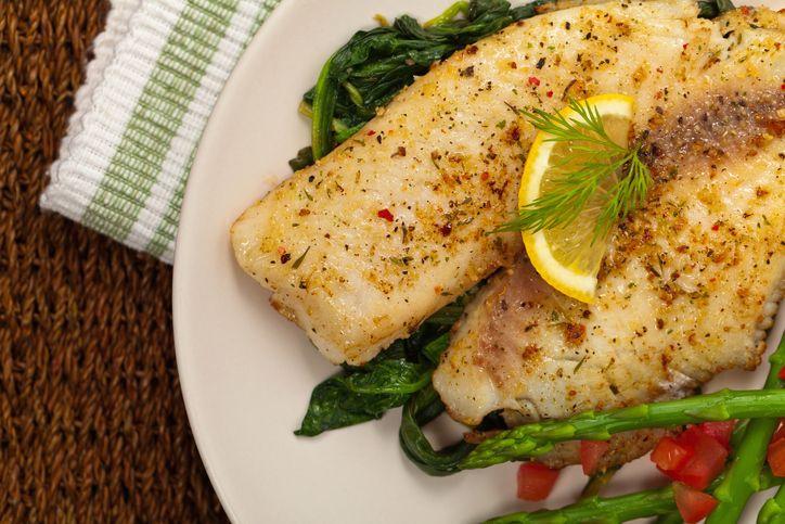Blackened White Fish – Food & Drinks